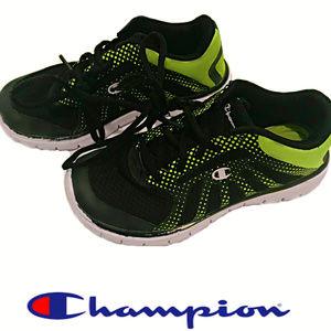 Champion Lightweight Green & Black Sneakers